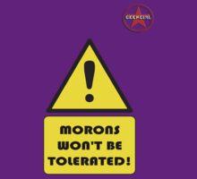 GeekGirl - Morons by AdeGee