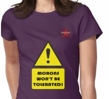 GeekGirl - Morons Womens Fitted T-Shirt