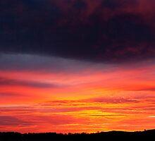 A beautiful sunset by Sarah Cowan