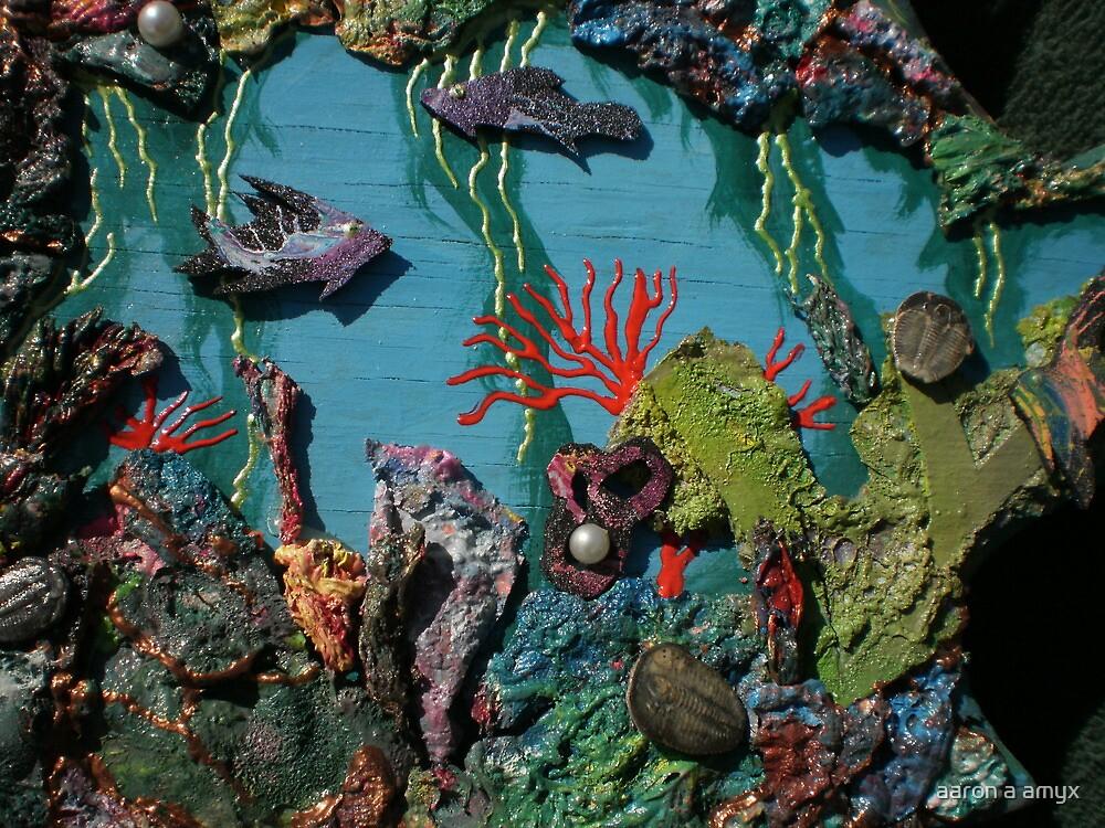 Trilobite & Sprayed Fish by aaron a amyx