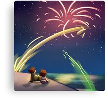 """Fourth of July"" Canvas Print"