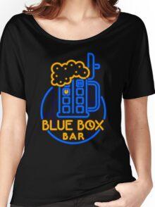 BLUE BOX BAR Women's Relaxed Fit T-Shirt