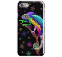 Chameleon Fantasy Rainbow Colors iPhone Case/Skin