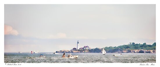 Summer Fun - Maine by Richard Bean