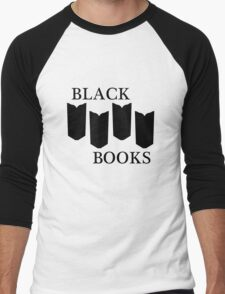 Black Books tshirt Men's Baseball ¾ T-Shirt