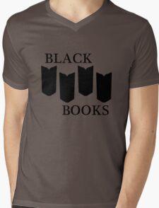 Black Books tshirt Mens V-Neck T-Shirt