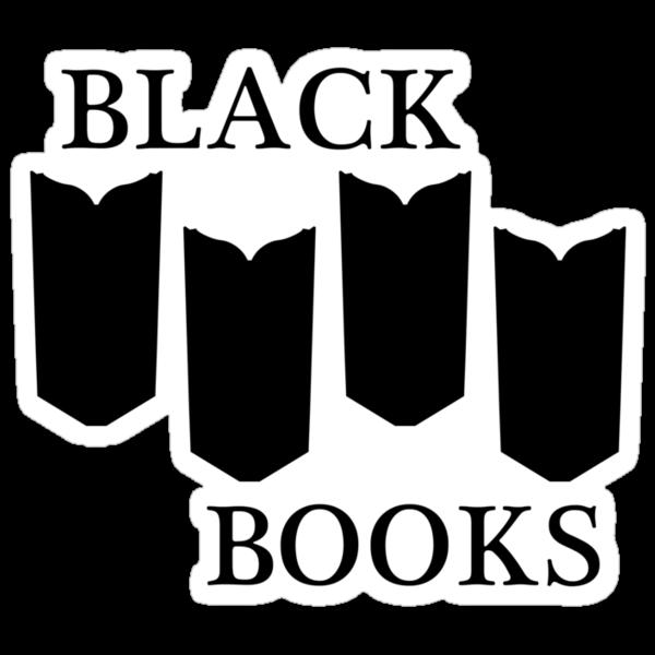 Black Books tshirt by nouvellegamine