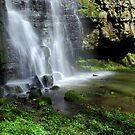 Waterfall at Swallet Falls by John Dunbar