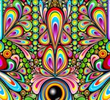 Hamsa Amulet Psychedelic Sticker