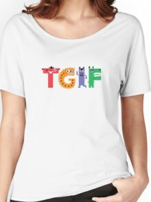 TGIF Monsters Women's Relaxed Fit T-Shirt