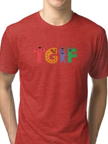 TGIF Monsters Tri-blend T-Shirt