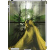 glowing statue iPad Case/Skin