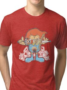 Hunger Cat !!! Tri-blend T-Shirt