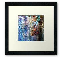 Interweaving Framed Print