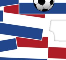 Netherlands Flag Football Sticker