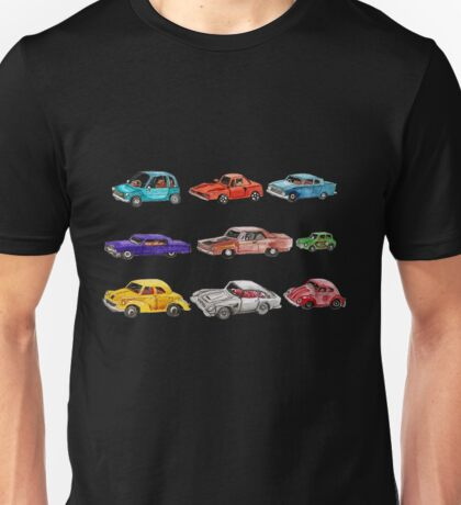 Car collection  Unisex T-Shirt