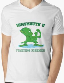 The Fighting Fishmen Mens V-Neck T-Shirt