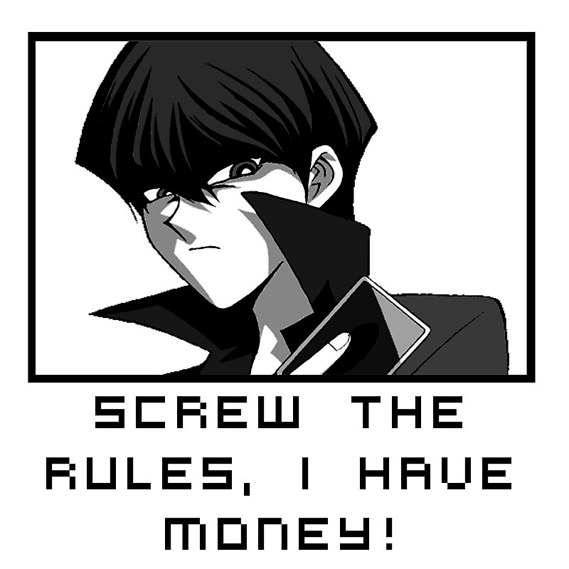 Screw the rules! by ianv64