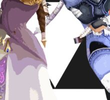 Zelda and Sheik Sticker