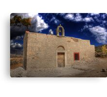 Old ruined Church  Canvas Print