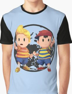 Ness and Lucas Graphic T-Shirt