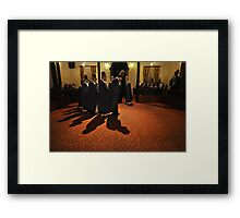 Prelude to the Dance Framed Print