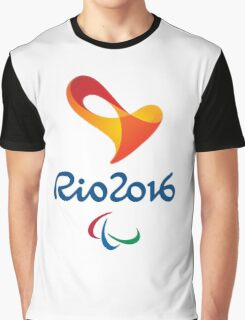 Paralympics, Rio 2016 Paralympic games Graphic T-Shirt