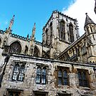 The Angles of York Minster by Amie Wilder
