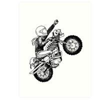 Women Who Ride - Dare Devil Art Print