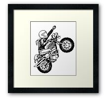 Women Who Ride - Dare Devil Framed Print