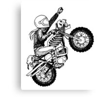 Women Who Ride - Dare Devil Canvas Print