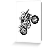 Women Who Ride - Dare Devil Greeting Card