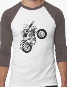 Women Who Ride - Dare Devil Men's Baseball ¾ T-Shirt