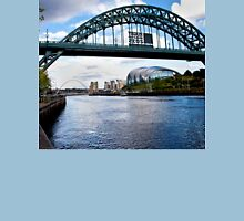 Tyne Bridges, Baltic and The Sage Unisex T-Shirt