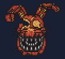 Jack-O-Bonnie - Five Nights at Freddy's 4 Halloween - Pixel art One Piece - Short Sleeve