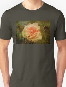 Damaged ~ a Rose with a Message Unisex T-Shirt