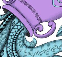 Aquarius - Purple Sticker
