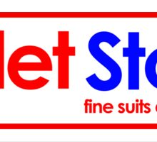 Toilet Store: Fine Suits and Tailoring Sticker