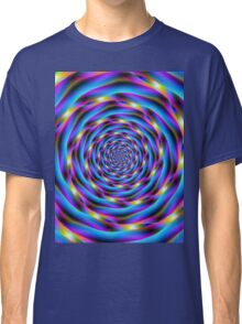 Vortex in Blue and Violet Classic T-Shirt