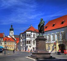 Győr's square II by zumi