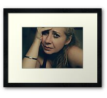 No Easy Decisions Framed Print
