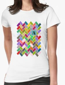A Monogram Womens Fitted T-Shirt