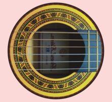 Flamenco Guitar by rafi talby One Piece - Long Sleeve