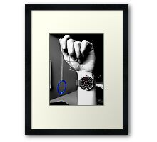 Time and Portals. Framed Print