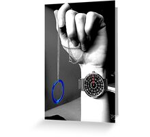 Time and Portals. Greeting Card