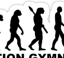 Evolution gymnastics Sticker
