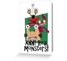 MOOONSTERSSS!!!!! Greeting Card