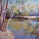 Goulburn Tranquility by Lynda Robinson