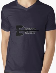 Honour & Glory Mens V-Neck T-Shirt