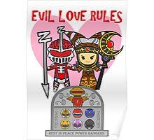 Power Ranger's Love Story Poster
